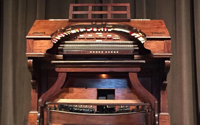 City Auditorium organ